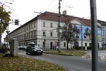 Kasárna na Mariánském náměstí v Českých Budějovicích.