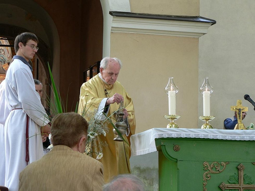 Tradiční letní pouť u příležitosti svátku Navštívení Panny Marie ve známém poutním místě Římov na Českobudějovicku.