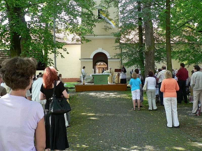 Tradiční letní pouť se v neděli konala u příležitosti svátku Navštívení Panny Marie ve známém poutním místě Římov na Českobudějovicku.