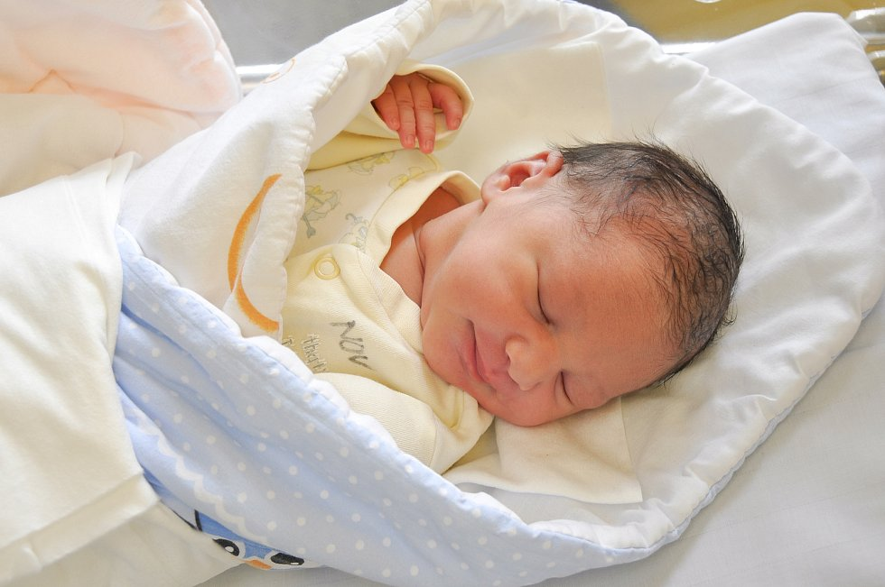 Sofie Lacková z Horažďovic. Holčička se narodila 17. 7. 2021 v 0.51 hodin a při příchodu na svět vážila 3130 g. Doma ji netrpělivě očekávala sestřička Klaudie (2).