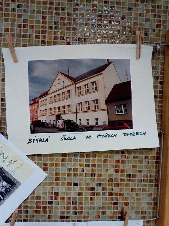Bývalá škola ve Čtyřech Dvorech.