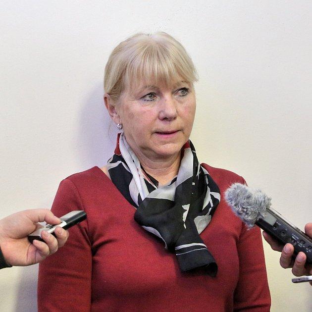 Na snímku hlavní vyšetřovatelka Renáta Miková.