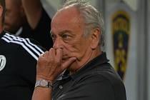 Trenéru Františku Ciprovi po debaklu v Karviné příliš do řeči nebylo.