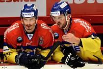 Jiří Kučný (vpravo) se Žigou Pavlinem.