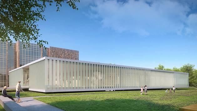 Jihočeská vědecká knihovna v Českých Budějovicích připravuje pro jaro příštího roku přístavbu rozlehlého přízemního pavilonu ke svému objektu v Lidické třídě.