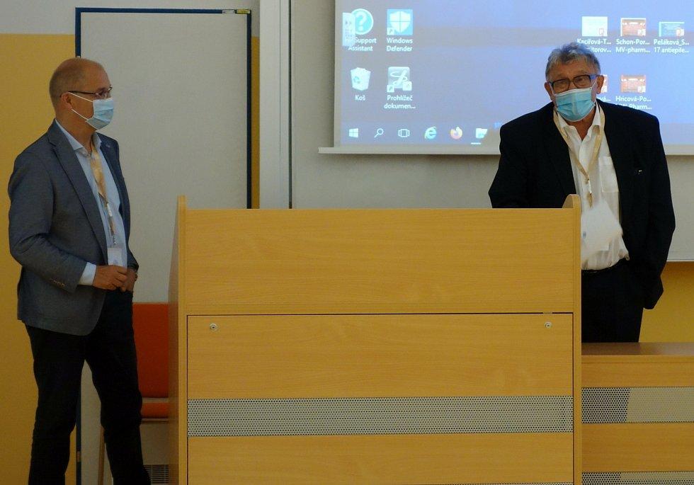 Konference klinické farmakologie na Jihočeské univerzitě.