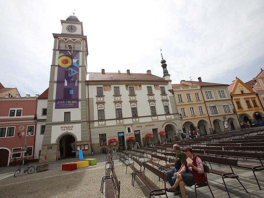 Anifilm v Třeboni.