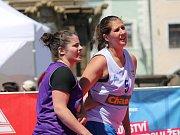 Basketbalový turnaj se po roce vrátil do centra Českých Budějovic.