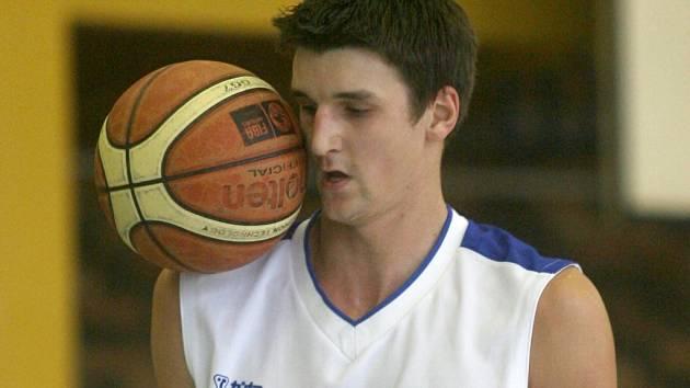 David Bláha v zápase BSK Č. Budějovice s Karlovými Vary přispěl k vítězství svého týmu sedmnácti body.