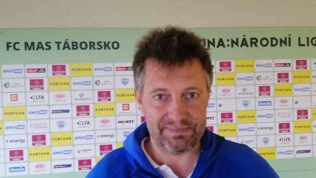 Fotbalový trenér Miloslav brožek