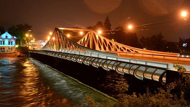 Současná podoba Dlouhého mostu.