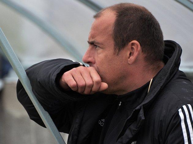 Trenér Jiří Lerch na podzim moc důvodů ke spokojenosti neměl.