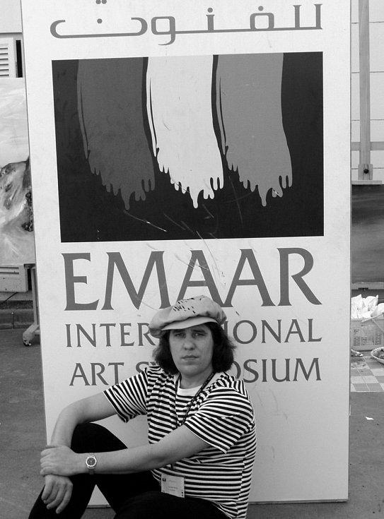 Výtvarné sympózium Dubai.