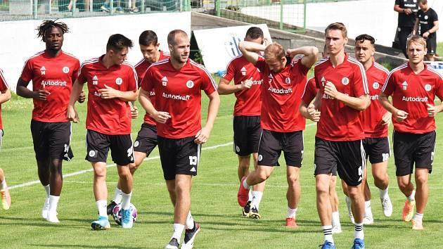Fotbalisté Dynama v pondělí zahájili přípravu na nový ročník I. ligy.