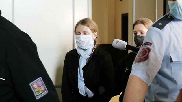 Rozsudek za vraždu dítěte na českobudějovickém Krajském soudu.
