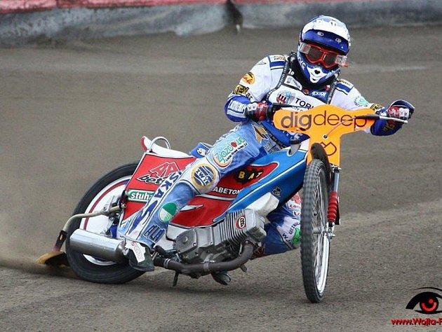 Zdeněk Simota se dostává do velmi dobré formy.