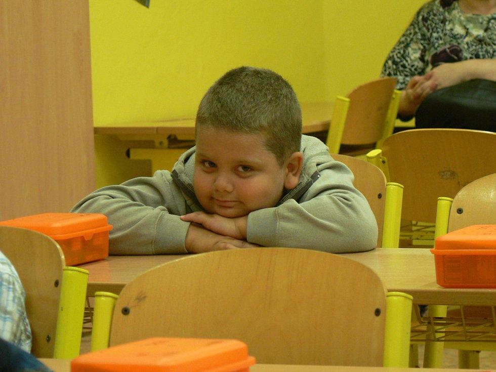 Začátek školy 2. září 2019 v prvních třídách budějovické ZŠ Nová.