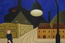 Výstava děl Michala Singera ve Wortnerově domě v Českých Budějovicích.