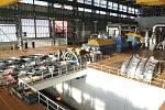 Příprava na výměnu nízkotlakých dílů turbíny v prvním bloku Jaderné elektrárny Temelín