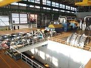 Příprava na výměnu nízkotlakých dílů turbíny v prvním bloku Jaderné elektrárny Temelín již začala.