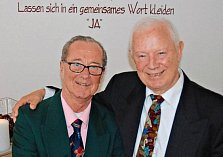 Nikita Gsovsky (vlevo) und Klaus Weyrowitz.