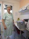 Jednou z voliček byla v českobudějovické nemocnici i 91letá Jaroslava Podlešáková.