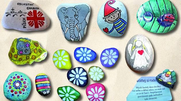 Také jste našli malovaný kamínek?