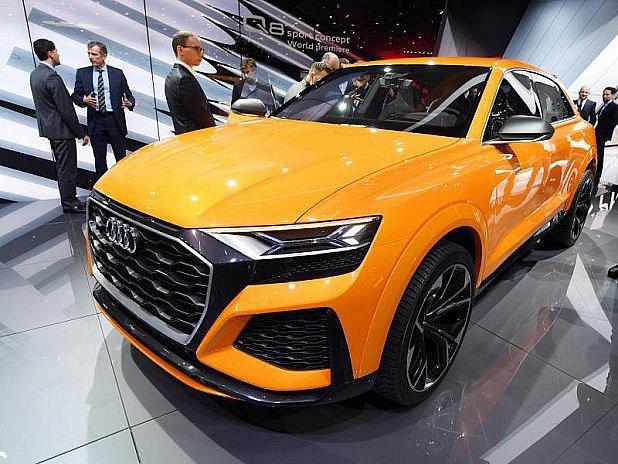 Audi Q8 budou vyrábět vBratislavě.