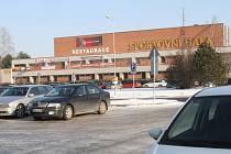 Českobudějovická sportovní hala.