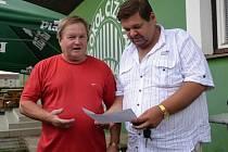 Jaroslav Vavroch znovu usedl na trenérskou lavičku. V divizi vede Čížovou.