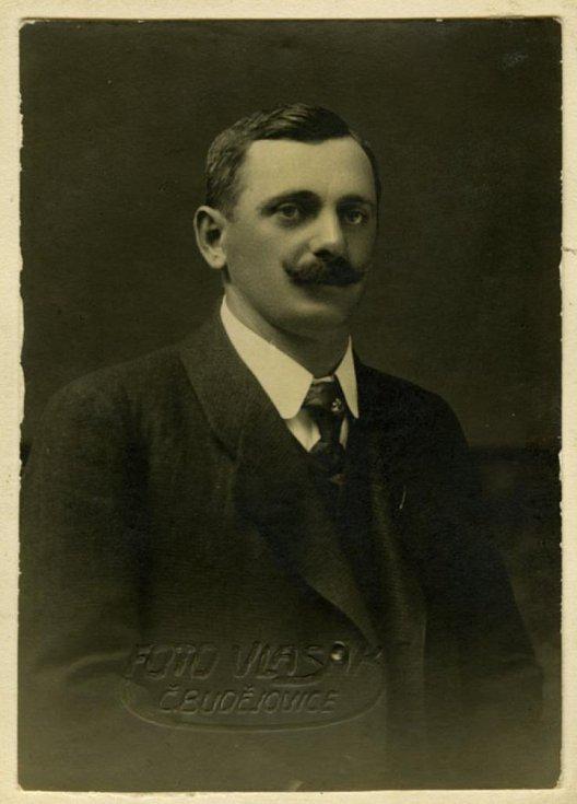 Karel Hafner, bývalý člen Sokola v Mladém.
