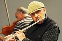 Jazzman Jiří Stivín bude jedním z hostů píseckého festivalu Cool v plotě.