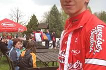 V pátek odstartuje v Č. Budějovicích Tour tří zemí. Na startu bude v barvách Jihočeského výběru startovat i cyklista CT Budvar Tábor Ondřej Bambula.