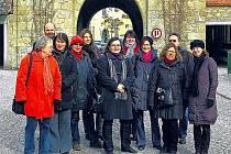 Průvodci ve Freistadtu.