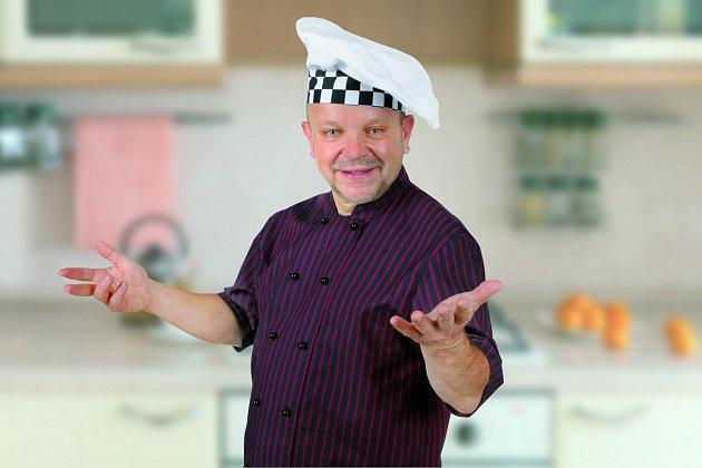 Kuchař Petr Stupka.