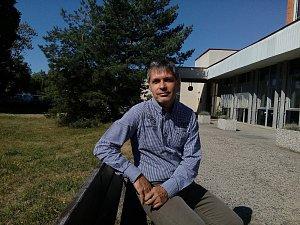 Jan Hájek, ředitel závodu Okolo jižních Čech.