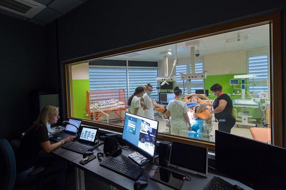 Ve středu 23. září byl zahájen provoz simulačního centra pro zdravotnické obory Zdravotně sociální fakulty Jihočeské univerzity v Českých Budějovicích.
