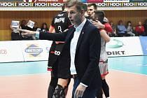 René Dvořák s výkonem svého týmu moc spokojený nebyl.