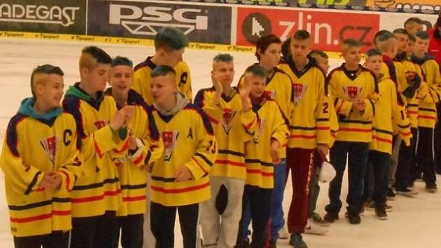 Starší žáci HC České Budějovice získali po osmi letech medaili na hokejovém mistrovství republiky.