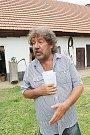 Režisér Zdeněk Troška natáčí v Jižních Čechách čertovskou pohádku Čertoviny.