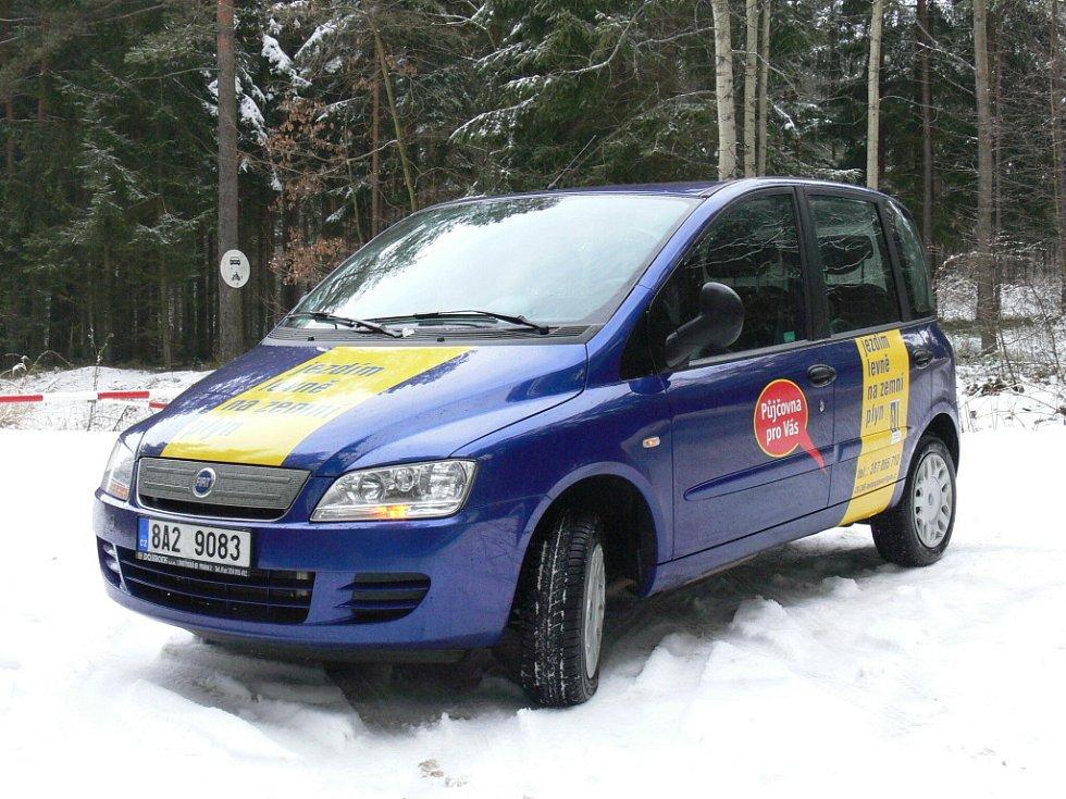 Fiat Multipla 1.6 16V na CNG pohon.