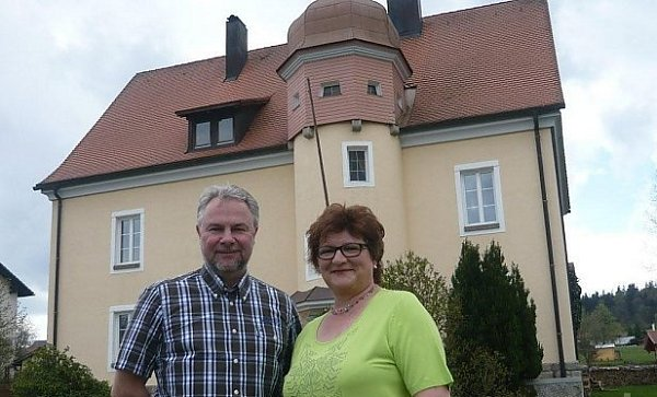 Nová starostka Haidmühle.