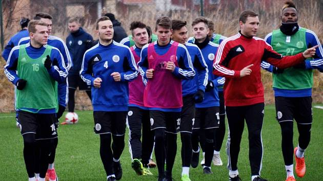 Fotbalisté Dynama v pondělí zahájili zimní přípravu na jarní část II. ligy.