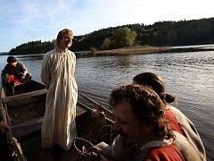 Film Jan Hus se v roce 2014 natáčel i na Orlické přehradě.