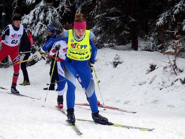 TALENT. Andrea Klementová je talentovanou běžkyní na lyžích a zároveň patří mezi nejlepší studenty vimperského gymnázia. Minulý víkend se stala dvojnásobnou mistryní České republiky v Jablonci nad Nisou.