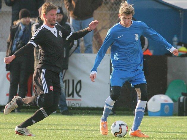 Fotbalisté Dynama po výhře se Žižkovem si v Tipsport lize na vyšehradě poradili i s Vlašimí (na snímku Richard Kalod).