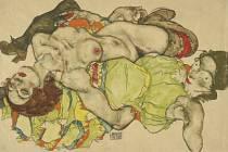 Egon Schiele v Albertinu.