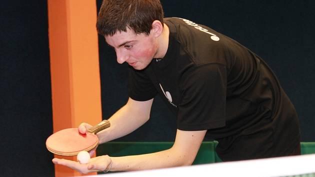 Pavel Kortus mladší z Pedagogu vyhrál okresní přebory mužů na Orlu.