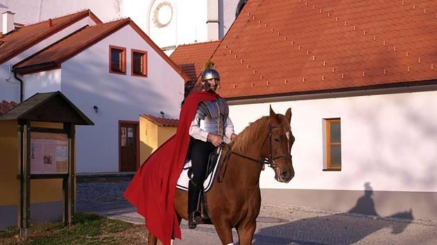 Se svatým Martinem se setkáte v Borovanech.