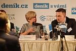 Setkání s hejtmankou Ivanou Stráskou.